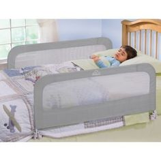 Essential For Transitioning Your Child From The Crib To Bed HomeSafe By Summer Infant Double Rail Provides Safety On Both Side Of