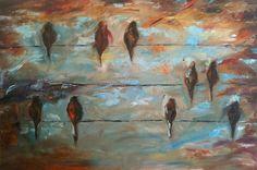 9birds    Oil on Canvas