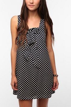 Coincidence   Chance Tie Top Polka Dot Dress 7e14c7b90