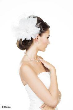 Brautfrisur mit Faszinator von Weise @boesckens