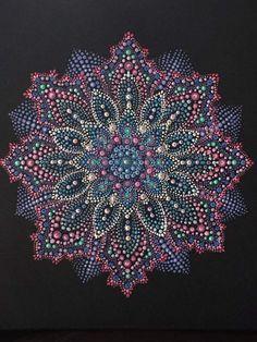 Dot Art Painting, Mandala Painting, Ceramic Painting, Painting Patterns, Stone Painting, Mandala Painted Rocks, Mandala Rocks, Mandala Canvas, Mandala Art