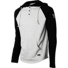 Element Past Time Fleece Pullover Hoodie – Men's Black, L