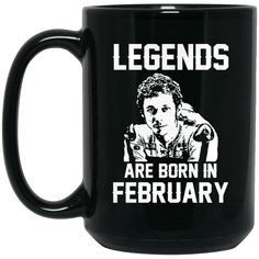 Valentino Rossi VR46 Mug Legends Are Born In February Coffee Mug Tea Mug Valentino Rossi VR46 Mug Legends Are Born In February Coffee Mug Tea Mug Perfect Qualit