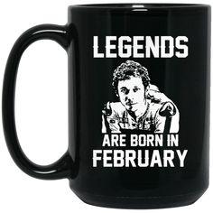 Valentino Rossi VR46 Mug Legends Are Born In February Coffee Mug Tea Mug Valentino Rossi VR46 Mug Legends Are Born In February Coffee Mug Tea Mug Perfect Qualit