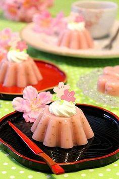 「桜の水ようかん☆混ぜるだけで簡単〜」ぱお | お菓子・パンのレシピや作り方【corecle*コレクル】