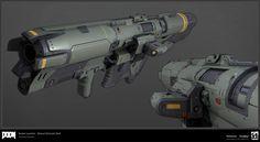 ArtStation - DOOM: Rocket Launcher, Timothee Yeramian