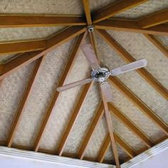 bamboo ceiling & fans