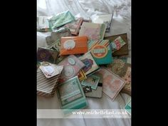 ▶ Stampin' Up! Incentive trip swaps shared by Michelle Last UK Demo - YouTube