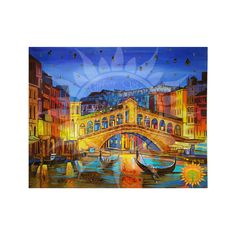 Ночная Венеция из янтаря ⋆ Amber stone