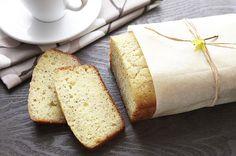 Lemon Poppy Seed Bread / #recipe