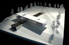 Villa Kogelhof - maquette -  Architectenbureau Paul de Ruiter bv