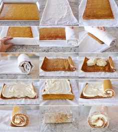 Home Made Doggy Foodstuff FAQ's And Ideas Get The Recipe For A Classic, Delicious Pumpkin Roll With Cream Cheese Frosting Two Absolutely Key Tips For A Perfect Pumpkin Roll Every Time Pumpkin Roll Cake, Pumpkin Dessert, Pumpkin Rolls, Pumpkin Recipes, Fall Recipes, Holiday Recipes, Köstliche Desserts, Dessert Recipes, Plated Desserts
