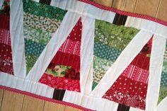 Granny Taught Me To Crochet: Christmas Tree Table Runner - TA - DAH!!!!!