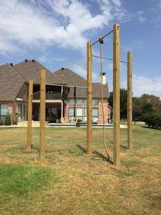 16 best climbing frame diy images in 2020  backyard gym