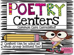 Common Core Poetry Unit