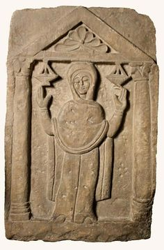 Gravestone. 5th C. Coptic Museum, Cairo. Religious Images, Religious Art, Early Christian, Christian Art, Ancient Aliens, Ancient Art, Mosaic Birds, Masonic Symbols, Iranian Art