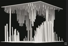 Image 7 of 16 from gallery of 'Vitreous' Academic Initiative / University of Houston CoA + Judd Foundation. Courtesy of University of Houston CoA + Judd Foundation Concept Models Architecture, Conceptual Architecture, Pavilion Architecture, School Architecture, Architecture Design, Pavilion Design, Gropius Bau, University Of Houston, Arch Model