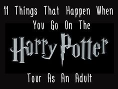 "11 Things That Happen When You Go On The ""Harry Potter"" Studio Tour As An Adult"
