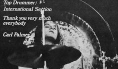 Carl Palmer Early 1970s Somebody To Love, Progressive Rock, Emerson, Celebrity Crush, 1970s