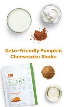 Embrace the fall flavors while remaining keto-friendly & low-carb with this Pumpkin Cheesecake Shake that's packed with flavor and whole nutrition! Get the full recipe here. Protein Powder Recipes, Protein Shake Recipes, Protein Shakes, Healthy Breakfast Recipes, Healthy Recipes, Drink Recipes, Yummy Drinks, Healthy Drinks, Low Carb Pumpkin Cheesecake