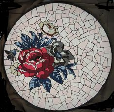 Mosaic Designs, Mosaic Art, My Arts, Tableware, Dinnerware, Tablewares, Place Settings, Mosaic