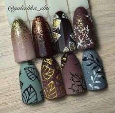 Best Nails Diy Designs Inspiration 53 Ideas Beste Nägel Diy Designs Inspiration 53 Ideen This image has get. Diy Nails, Cute Nails, Pretty Nails, Autumn Nails, Winter Nails, Nails Design Autumn, Gel Nagel Design, Nagellack Trends, Manicure E Pedicure