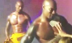 Tyson Beckford is a sexy fireman stripper in scenes from new movie