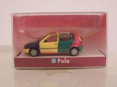 Herpa * VW Polo III (6N) * OVP 1:87 * Harlekin 2