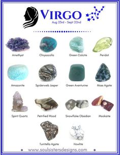 Crystals and the Zodiac | Soul Sisters Designs | Healing Crystal Jewelry and Home Decor