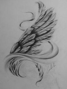 Dungeon Tattoo Studio ( – DIY-Tattoo-Bilder diy tattoo images - diy best tattoo ideas Wing Tattoo Designs, Angel Tattoo Designs, Tattoo Drawings, Body Art Tattoos, Cool Tattoos, Pet Tattoos, Male Tattoo, Tattoo Sketches, Tatoos