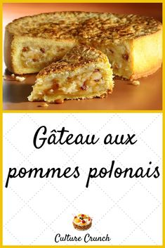 Discover recipes, home ideas, style inspiration and other ideas to try. Apple Dessert Recipes, Homemade Cake Recipes, Lemon Desserts, Apple Recipes, Easy Desserts, Easy Recipes, Passover Desserts, New Years Eve Dessert, French Desserts