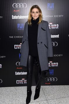 The Olivia Palermo Lookbook : Olivia Palermo at the screening of Captain America: Civil War in New York City.
