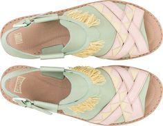 Camper Twins 22606-003 Zapatos planos Mujer. Tienda Oficial Online España