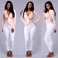"High Waist Skinny Jeans"" Shop & Follow  @FashionNova"