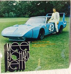 Meet Richard Petty Record Album And Book NASCAR Plymouth Racing Mopar 1970 Rare please retweet
