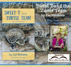 Java John Z's : Sweet T and the Turtle Team Book Blitz and Giveawa. Sea Turtles Hatching, Baby Sea Turtles, T Turtle, Sweet T, Chapter Books, Marine Life, Little Sisters, Book Lovers, Childrens Books