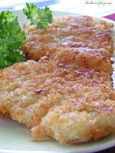 Ryba w chlebowej panierce. Fish in bread crumbs. Bread Crumbs, Fish, Pisces