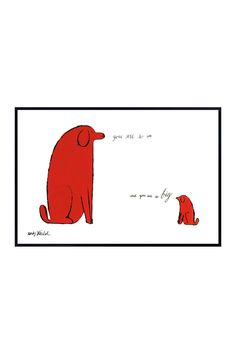 You Are So Little And You Are So Big by Andy Warhol
