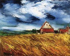 Maurice De Vlaminck - Landscape