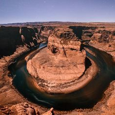 #HorseshoeBend #Page #LeesFerry #GlenCanyon Colorado River, Photograph, Scenic viewpoint, Nature - Photo by Karl Shakur N. - Follow #extremegentleman for more pics like this!