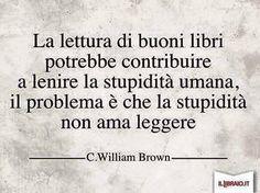 La lettura contro la stupidità