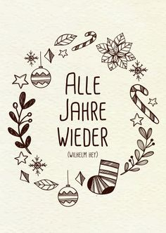 """Lese-Miniheft """"Weihnachten"""" - New Ideas Christmas Card Crafts, Christmas Quotes, Xmas Cards, Christmas Greetings, Greeting Cards, Christmas Drinks, Diy Letters, Painted Letters, Hand Lettering Fonts"""