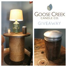 Enter to win a Goose Creek Candle from CraftedNiche.com