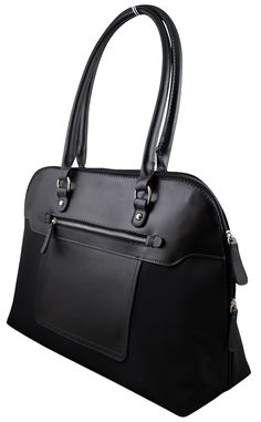 """Amazon.com: Supreme Elegant Work Tote, Business Women's Laptop Tote Bag with Padded Compartment for Computer up to 14.5"""" - Black: Computers & Accessories"""