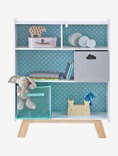 Dieses Tolle Kinderzimmerregal U201eArchitektu201c Bietet Viel Stauraum Für  Spielzeug, Bücher Und Kleine Schätze