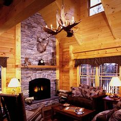 Boral Cultured Stone® Fireplace
