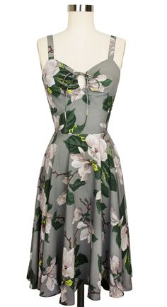 The Trashy Diva L'amour Dress in Steel Magnolias is full of southern charm!