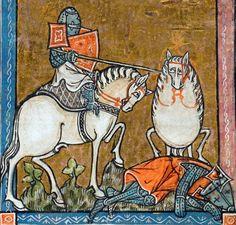 L'estoire de Merlin, France ca. 1316 (BL, Add 10292, fol. 213r)