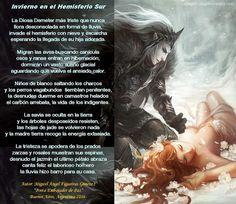 El Magazin de Merlo: ¡LLEGO el INVIERNO! La poesía como ave mitológica ...