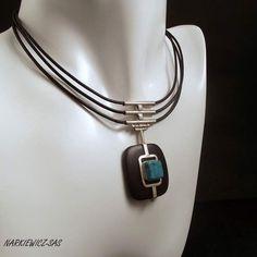 Ebony Turquoise Collar Necklace